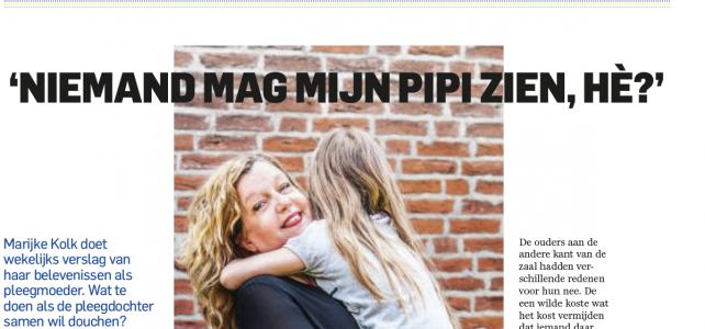Column AD Magazine: Pleegmoederen 4